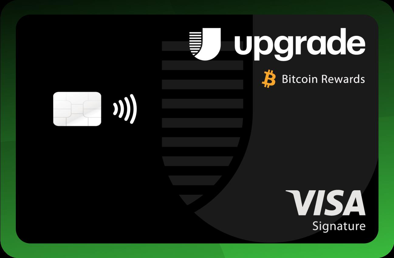 Upgrade Bitcoin Rewards Credit Card Art